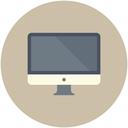 apple, computer, laptop, mac, monitor, screen icon